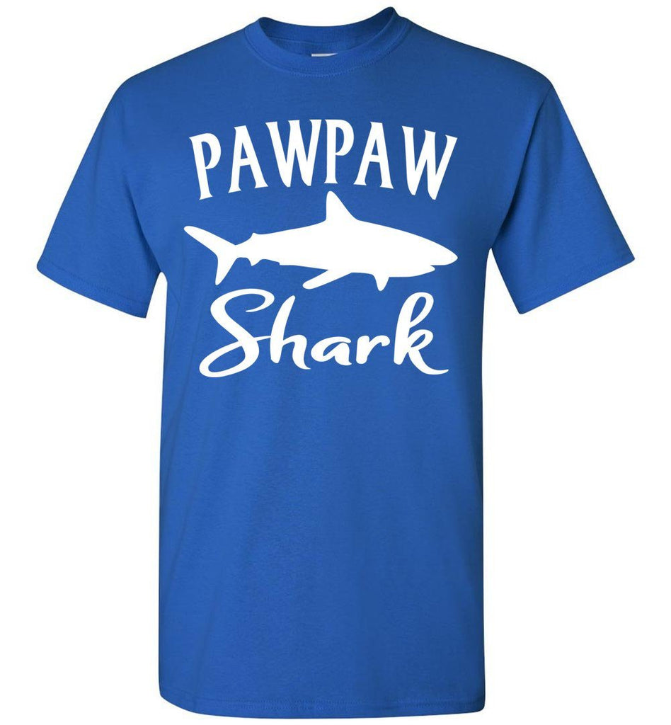 Pawpaw Shark Shirt royal