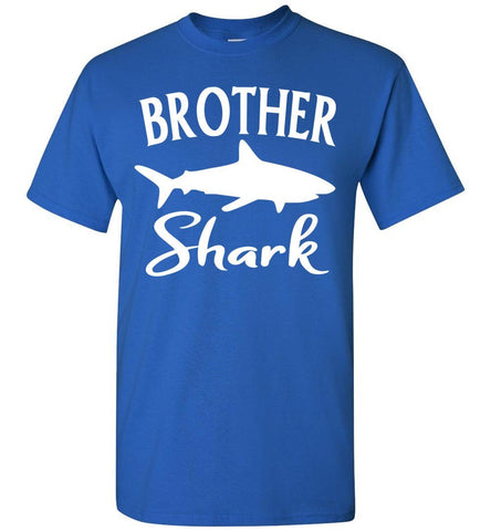 Brother Shark Shirt unisex royal
