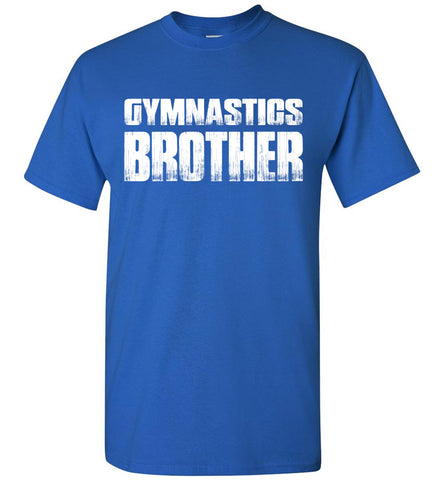Image of Gymnastics Brother Shirt royal