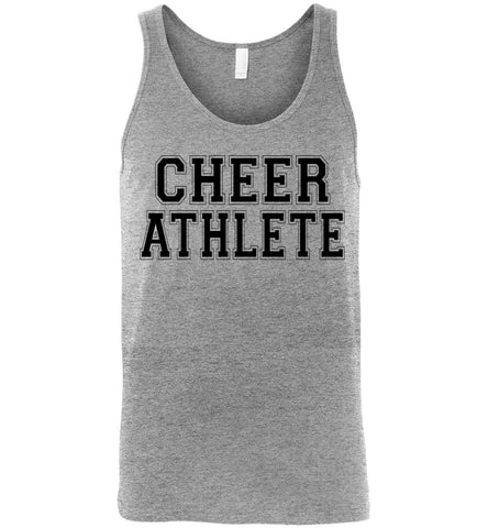 Image of Cheer Athlete Cheer Tank unisex sports gray