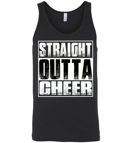 Straight Outta Cheer Tank Top unisex