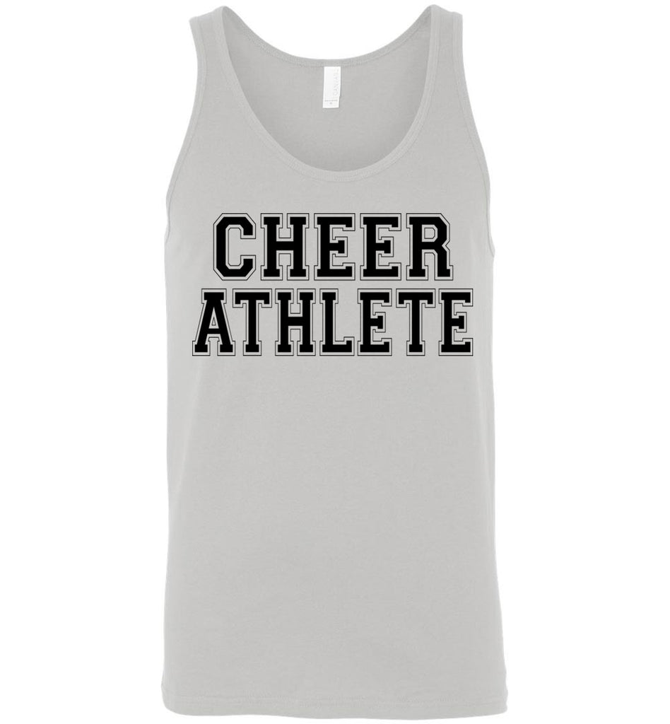 Cheer Athlete Cheer Tank unisex gray