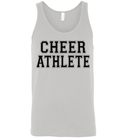 Image of Cheer Athlete Cheer Tank unisex gray