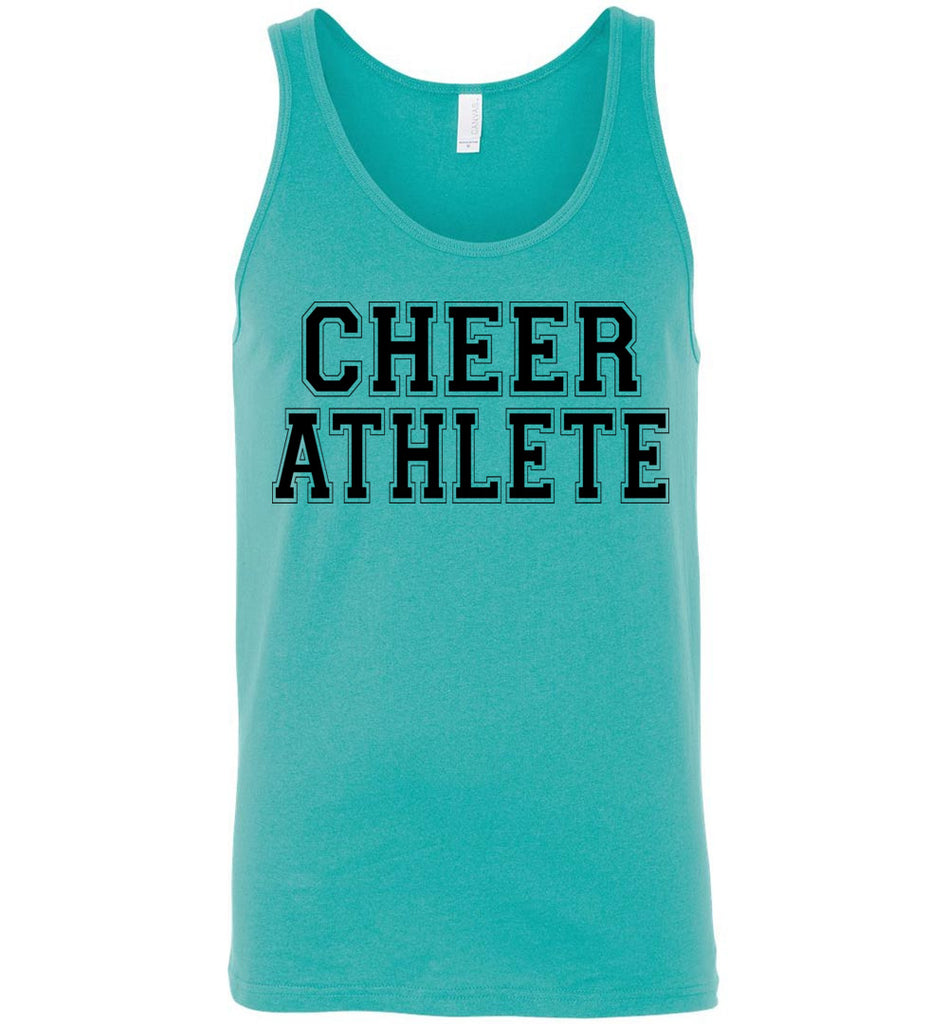 Cheer Athlete Cheer Tank unisex turquoise