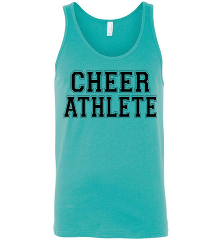Image of Cheer Athlete Cheer Tank unisex turquoise