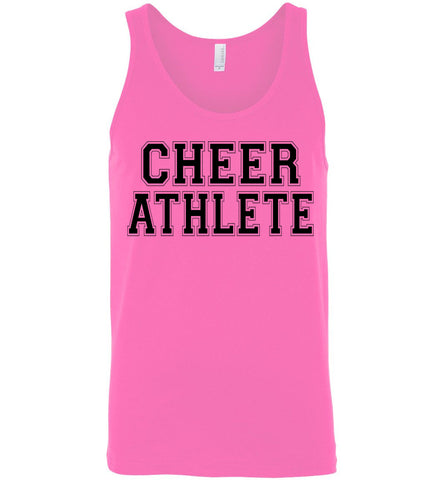 Image of Cheer Athlete Cheer Tank unisex pink