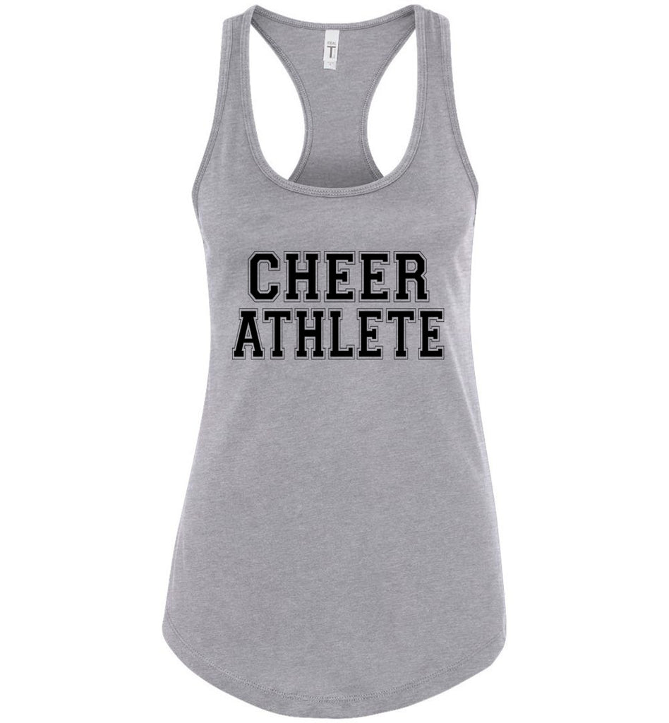 Cheer Athlete Cheer Tank sports gray