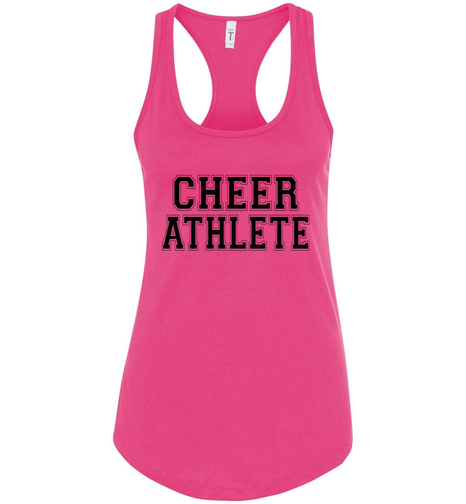 Cheer Athlete Cheer Tank pink