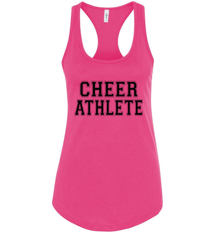 Image of Cheer Athlete Cheer Tank pink