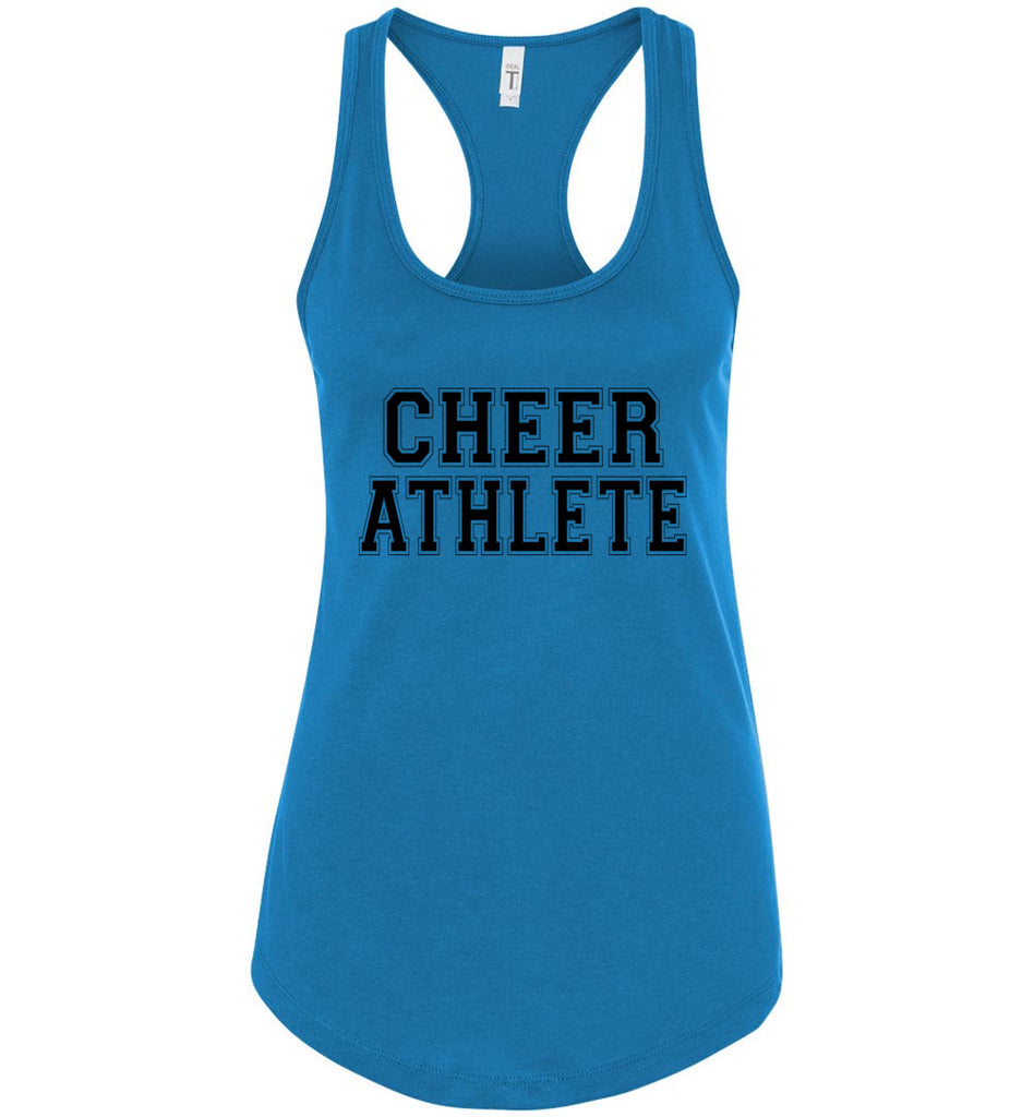 Cheer Athlete Cheer Tank turquoise