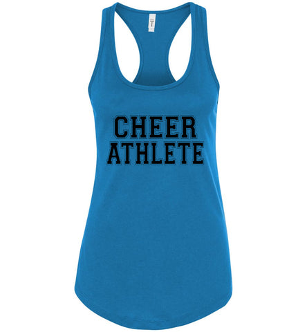 Image of Cheer Athlete Cheer Tank turquoise