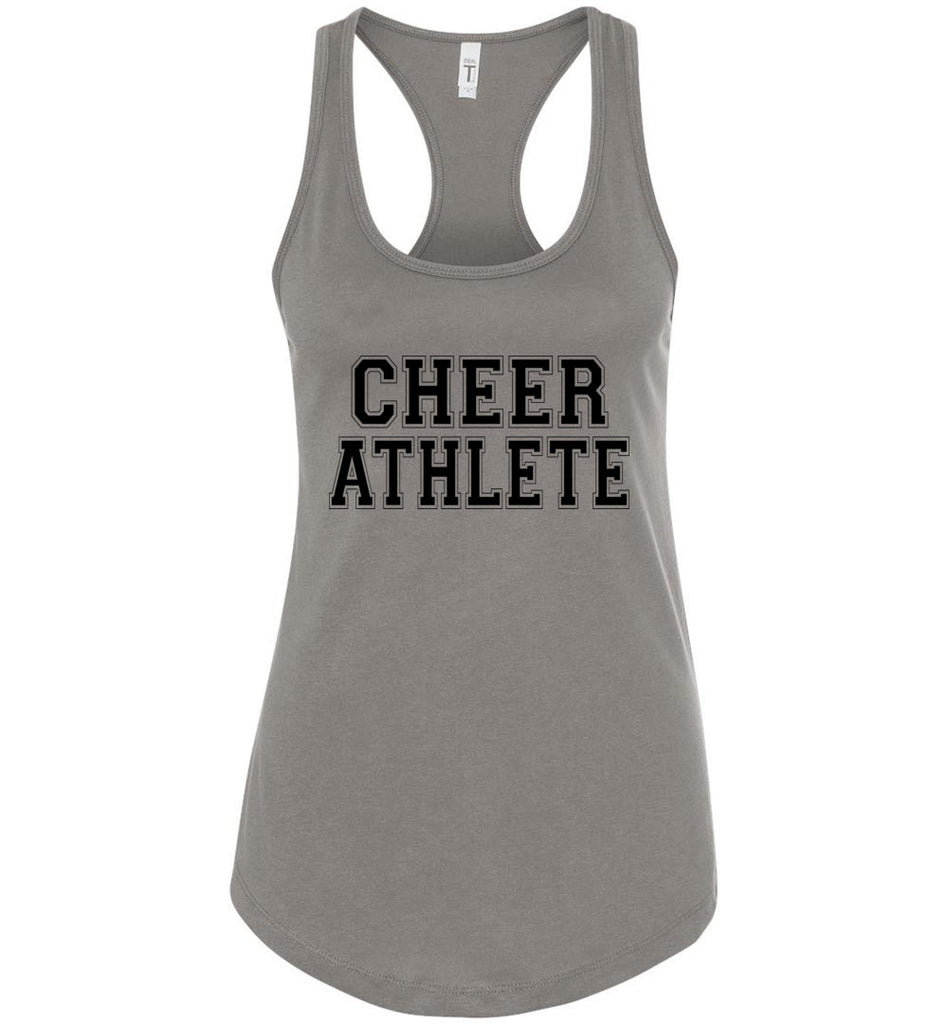 Cheer Athlete Cheer Tank gray