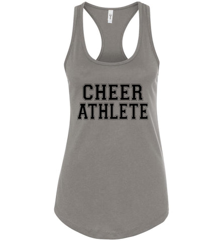 Image of Cheer Athlete Cheer Tank gray
