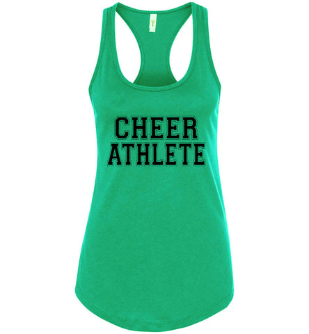 Image of Cheer Athlete Cheer Tank kelly green