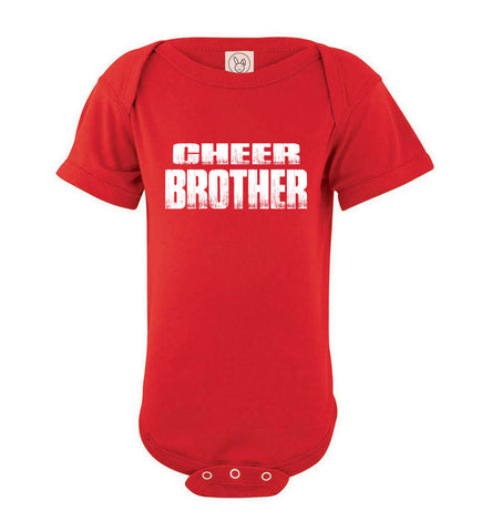 Image of Cheer Brother Shirt | Cheer Brother Onesie red