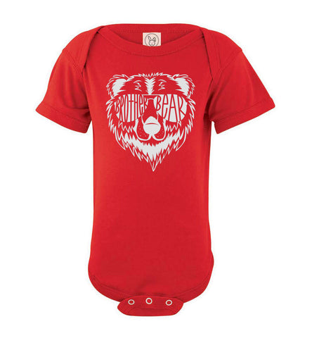 Brother Bear Shirt red onesie