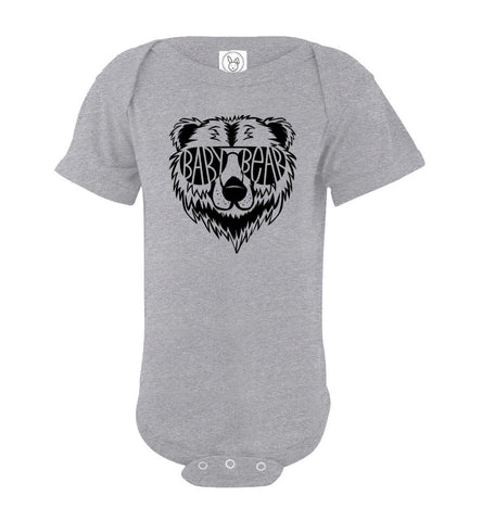Image of Baby Bear Infant Onesie gray