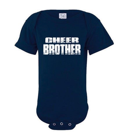 Cheer Brother Shirt | Cheer Brother Onesie navy