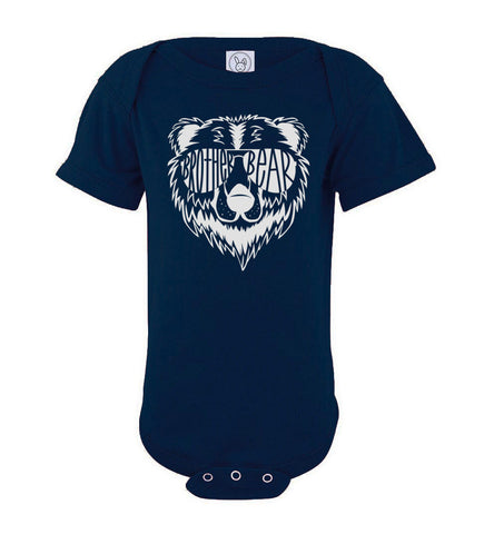 Brother Bear Shirt navy onesie
