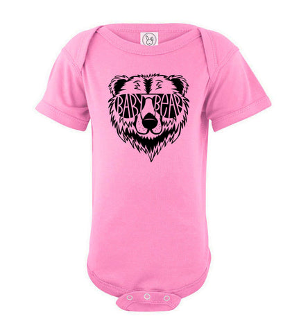 Image of Baby Bear Infant Onesie pink