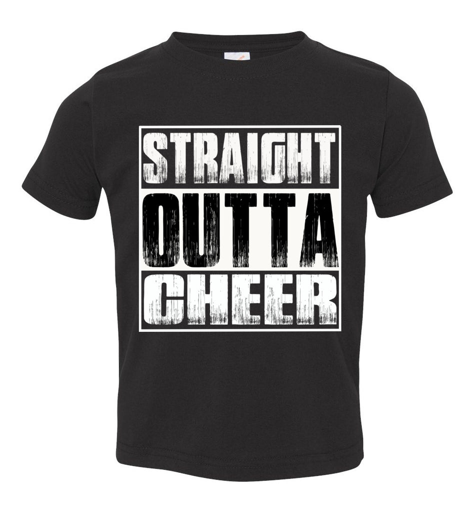 Straight Outta Cheer Shirt toddler