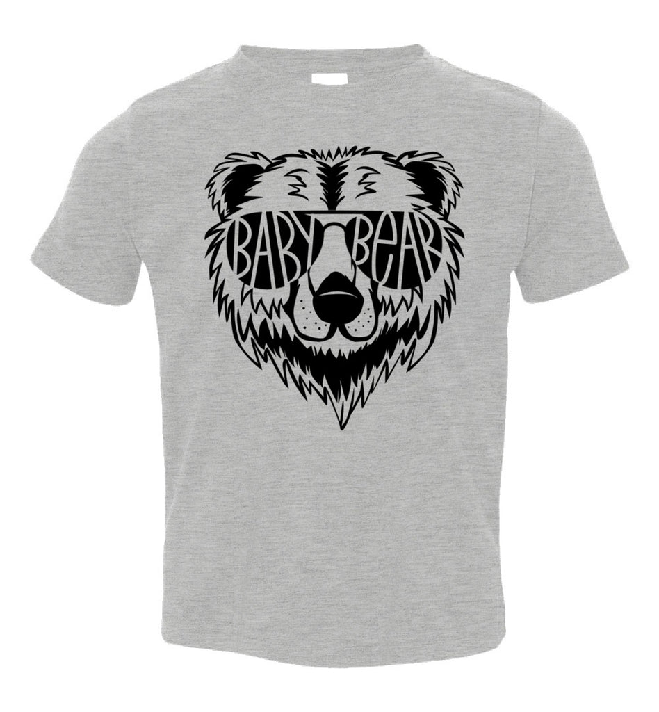 Baby Bear Toddler Tee Or Infant Onesie gray