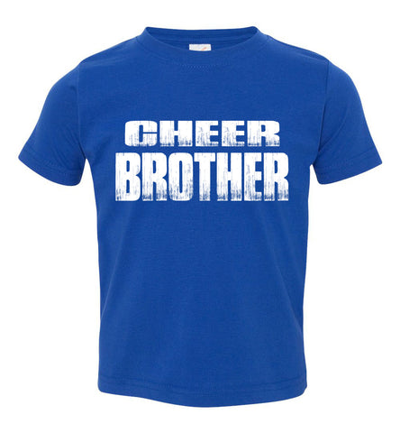 Image of Cheer Brother Shirt | Cheer Brother Onesie Toddler royal