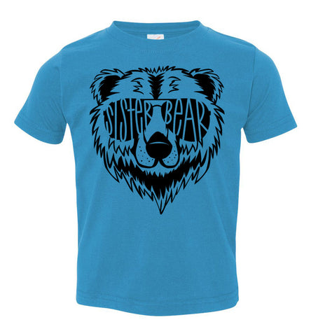 Image of Sister Bear Shirt toddler turquoise