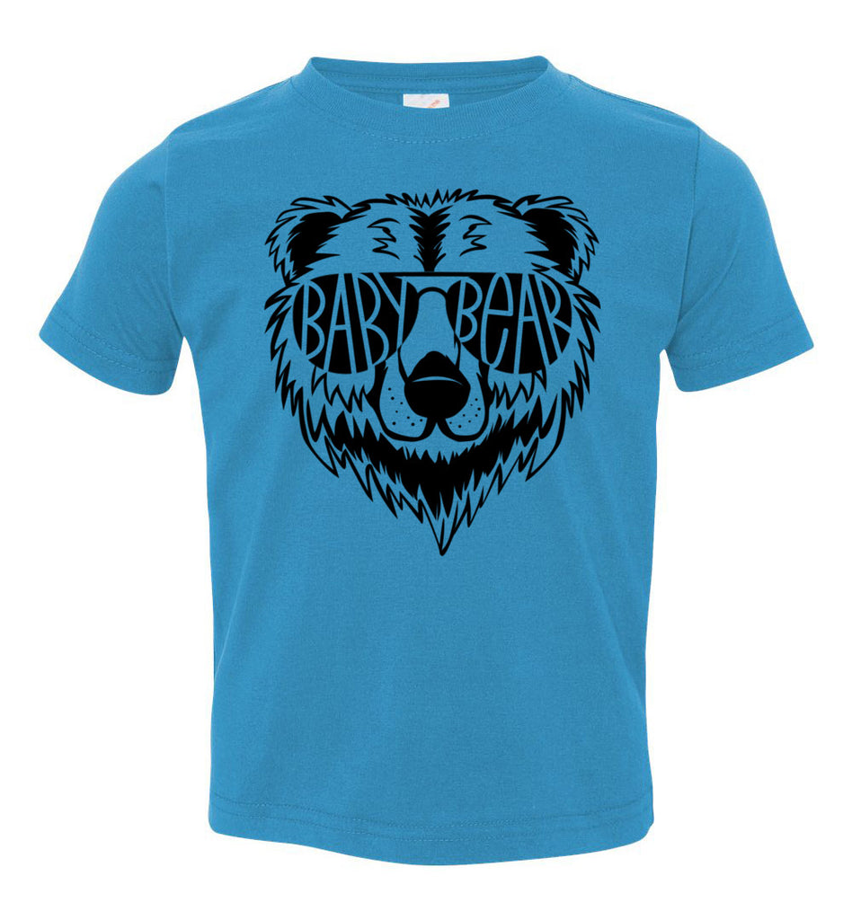Baby Bear Toddler Tee Or Infant Onesie turquoise