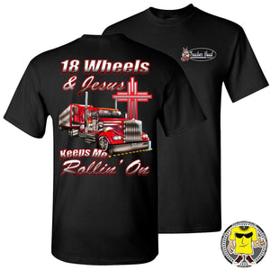 18 Wheels And Jesus Keeps Me Rollin' On crew