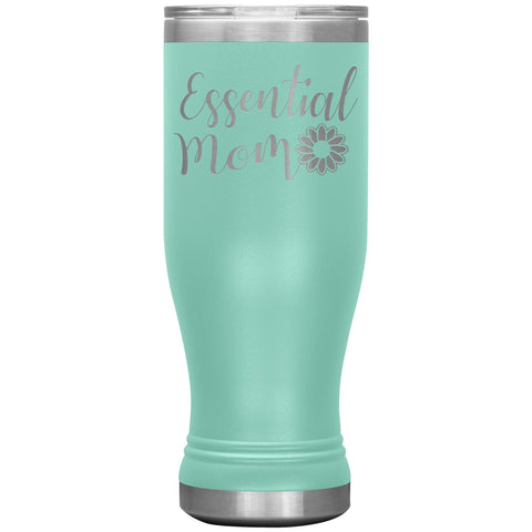 Essential Mom Tumbler Cup teal