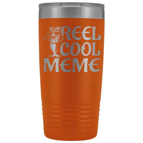 Image of Reel Cool Meme 20oz Tumbler orange