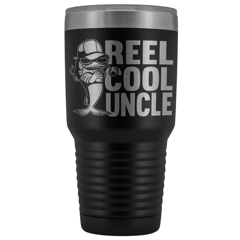 Reel Cool Uncle 30oz. Tumblers Uncle Travel Mug black