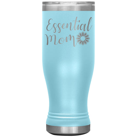 Essential Mom Tumbler Cup light blue