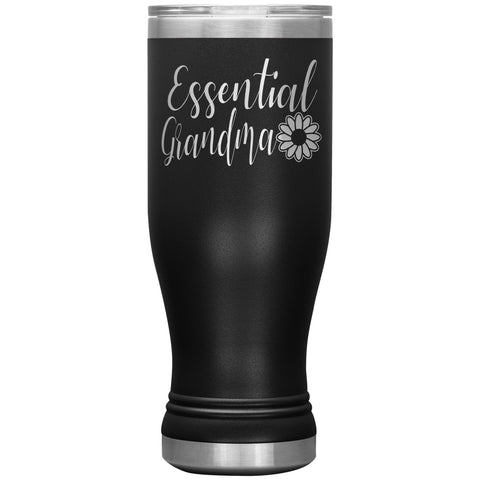Image of Essential Grandma Tumbler Cup, Grandma Gift Idea black