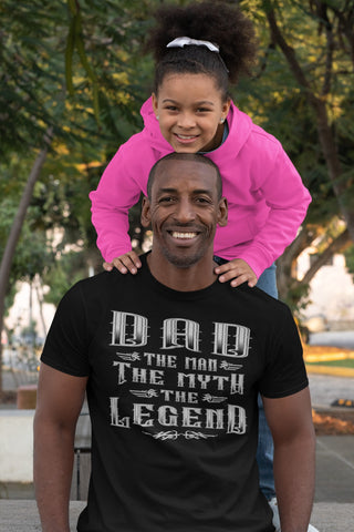 Image of Dad The Man The Myth The Legend T-Shirt