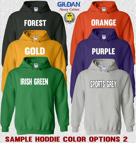Gildan Hoodie Color Options 2