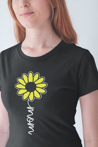 Image of Sunflower Mom Shirt mock up