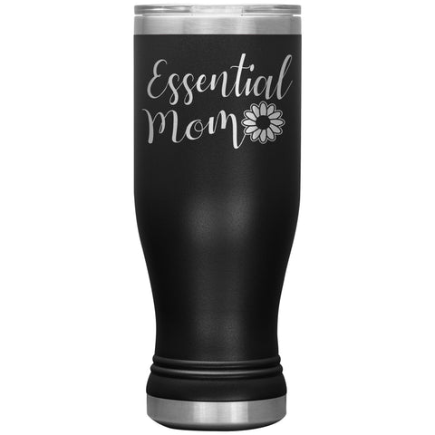 Essential Mom Tumbler Cup black