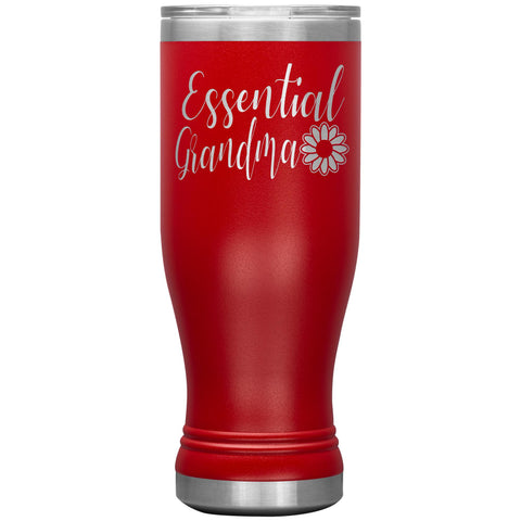 Essential Grandma Tumbler Cup, Grandma Gift Idea red