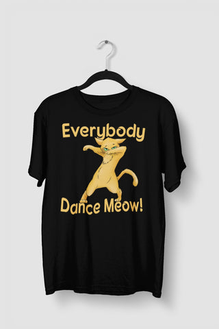 Everybody Dance Meow Funny Dance Shirts
