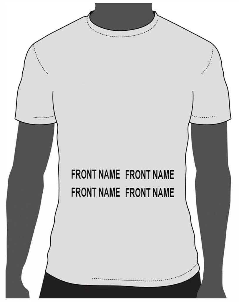 Add custom name to front sample placement mock up