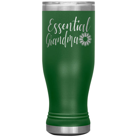 Image of Essential Grandma Tumbler Cup, Grandma Gift Idea green