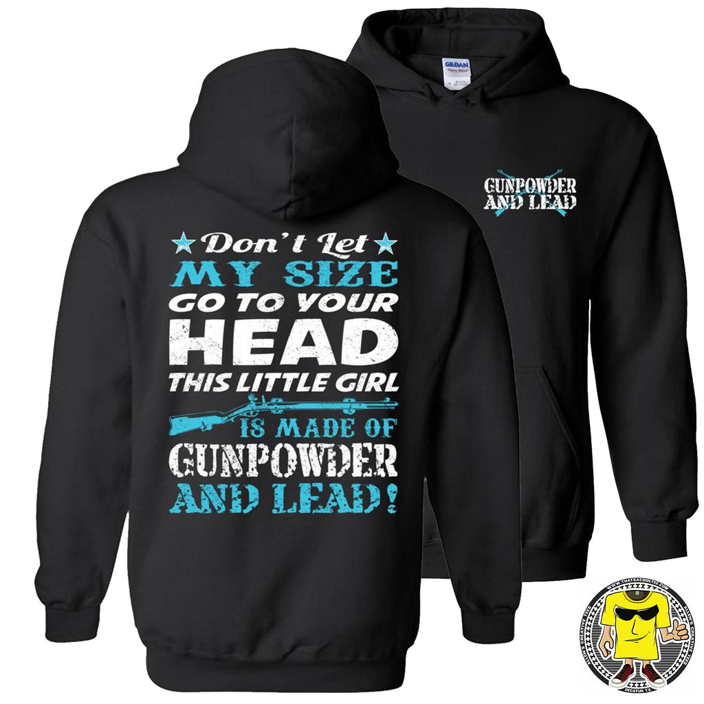 Gunpowder And Lead Hoodies for women pullover black