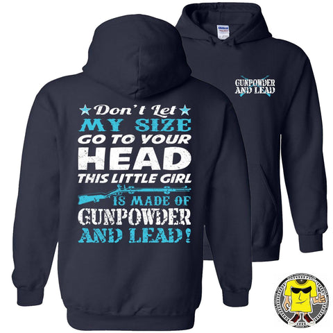 Gunpowder And Lead Hoodies for women pullover navy