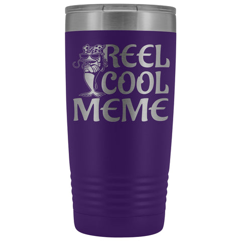 Reel Cool Meme 20oz Tumbler purple