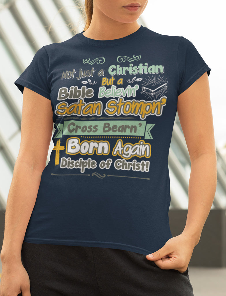 Not Just A Christian Quote T Shirts
