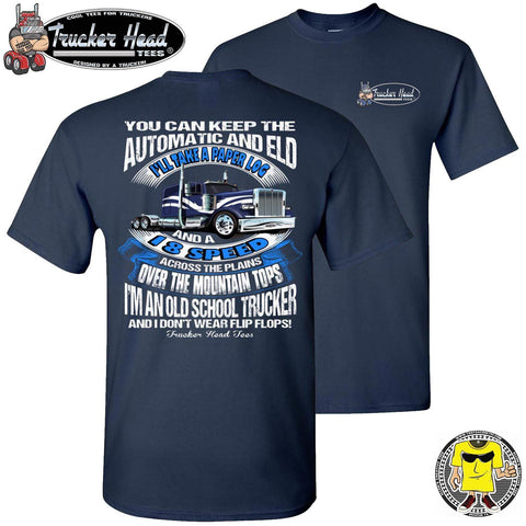 Image of Old school truckers, Trucker shirts, American trucker t shirts cn