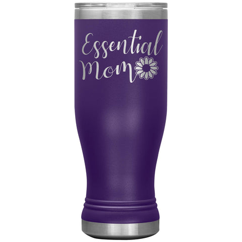 Essential Mom Tumbler Cup purple