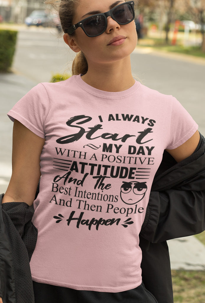 People Happen Funny T Shirts
